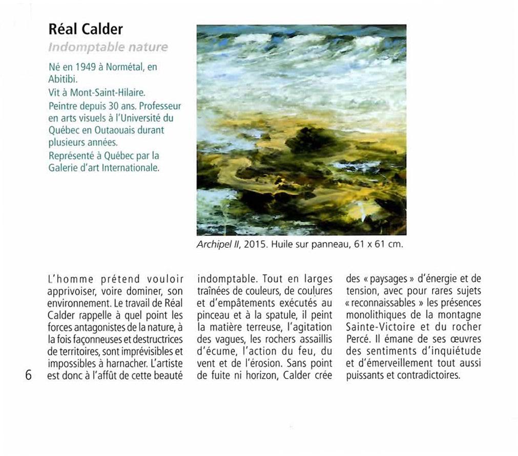 Répertoire des galeries d'art de Québec